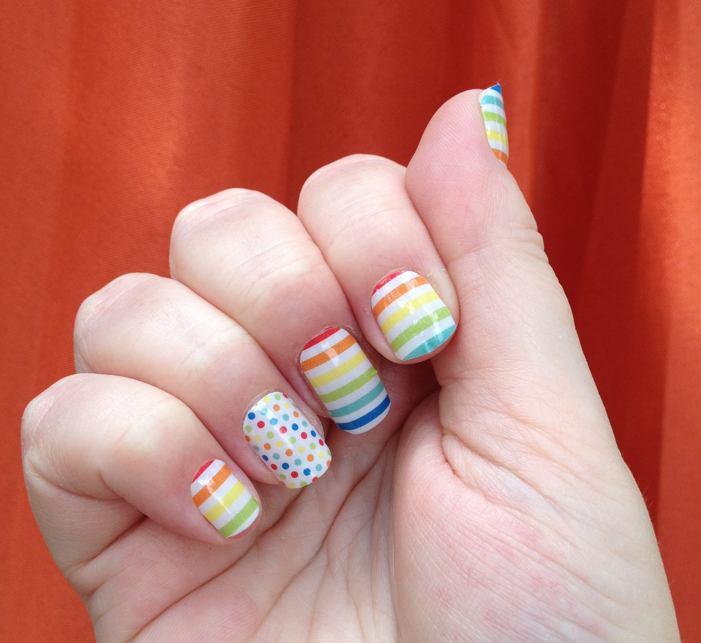 My First Time With Jamberry Nails & A Giveaway - Rainbowtized